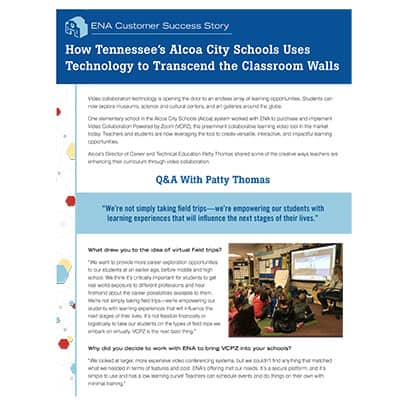 Alcoa City Schools Tn Zoom Whitepaper thumbnail