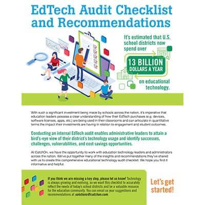 Catchon Edtech Audit Checklist Thumbnail