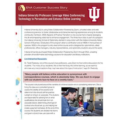 Indiana University Whitepaper Thumbnail