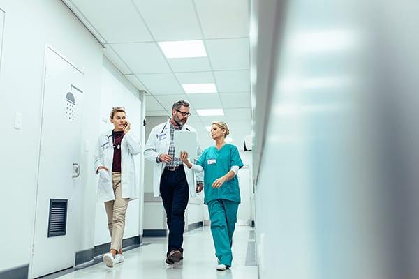 Medical staff Productivity