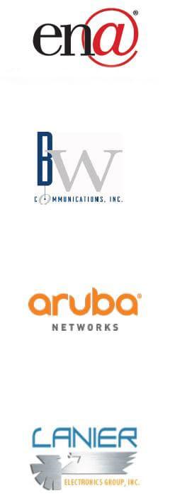 ENA & various partner logos